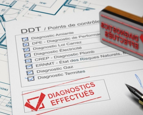 Diagnostic d'assainissement : liste des diagnostics immobiliers obligatoires
