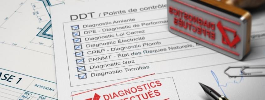 Diagnostic d'assainissement : liste des diagnostics immobiliers obligatoires