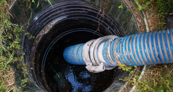 Vidange d'une fosse septique