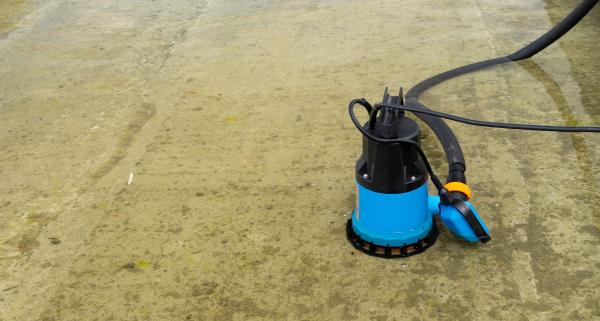 Principe de fonctionnement d'une pompe de relevage des eaux usées